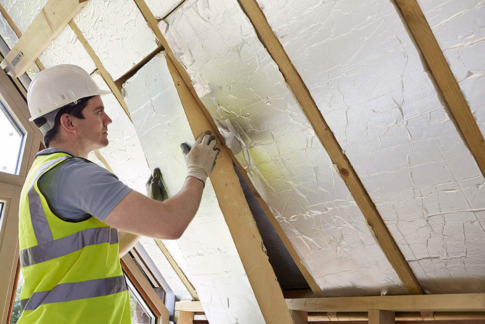 Room-in-roof insulation